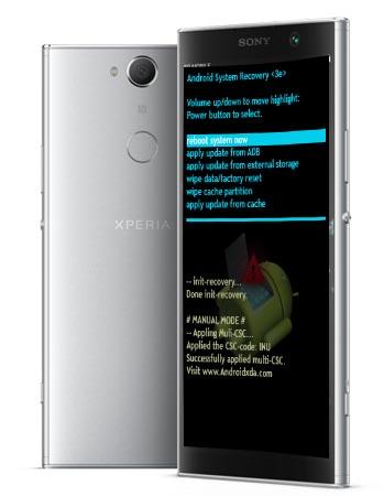 Sony Xperia XA2 Plus Modes and Respective Keys