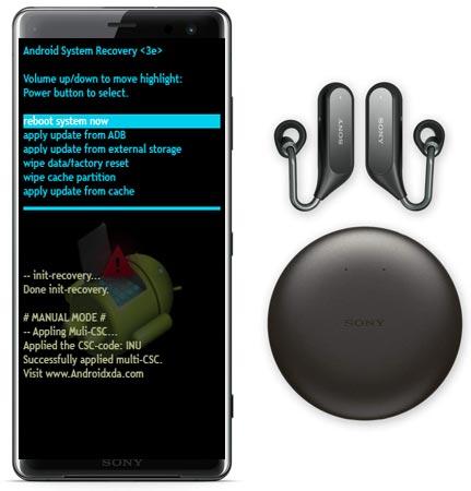 Sony Xperia XZ3 Modes and Respective Keys