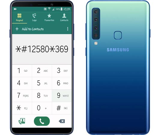 Samsung Galaxy A9 2018 Secret Hidden Codes