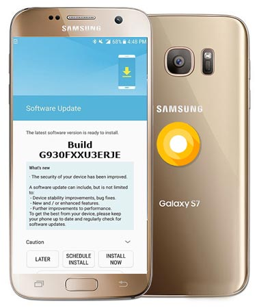 Samsung Galaxy S7 G930FXXU3ERJE Update Brings November 2018 Patch