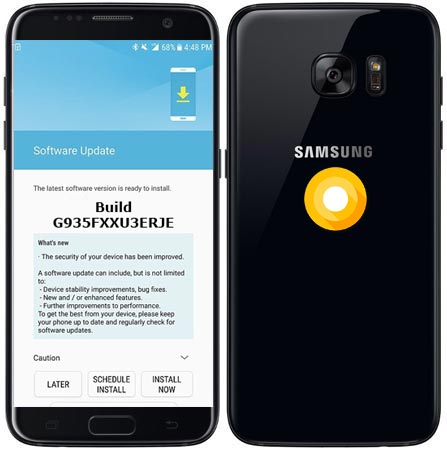 Samsung Galaxy S7 Edge G935FXXU3ERJE Update Brings November 2018 Patch
