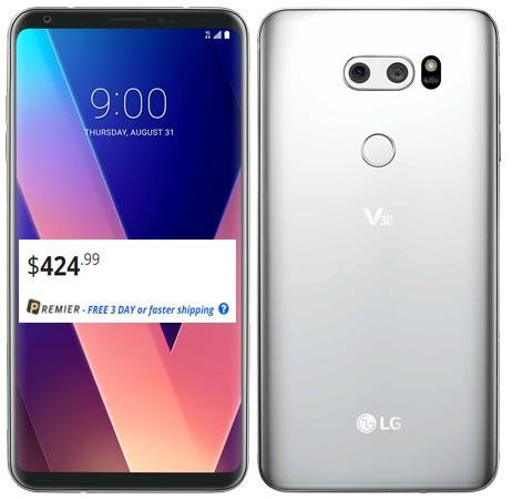 LG V30 Plus 128GB Unlocked Newegg Deal USD 425 US Region