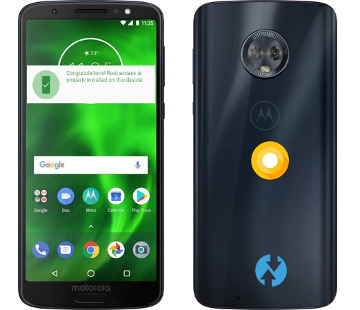 Root Moto G6 Oreo Install TWRP Official