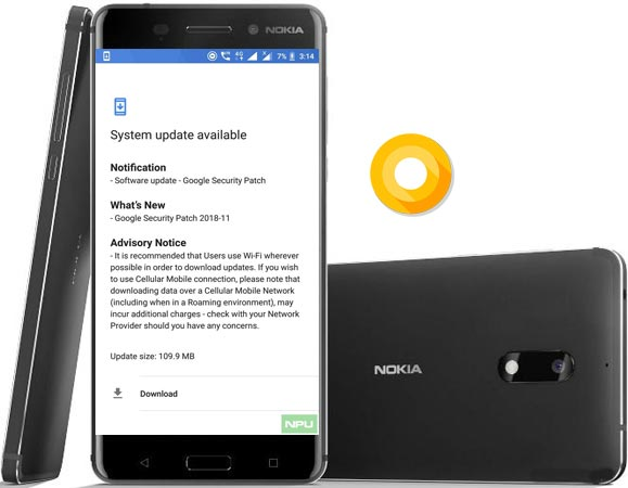 Nokia 6 Got November 2018 Patch Update