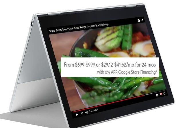 Google Pixelbook Black Friday Deal USD 699 US Region