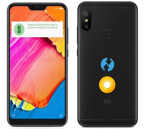 Root Xiaomi Redmi 6 Pro Oreo Install Official TWRP