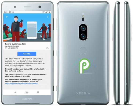 Sony Xperia XZ2 Premium Pie 9.0 Official Update Available Brings Full HD 960fps Slow-Motion Video and HDR Enhancement