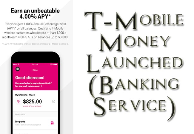 T-Mobile Money Launched- The New Banking Service From The Big Mobile Operator