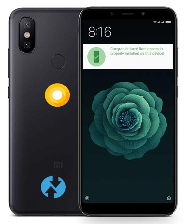 Root Xiaomi Mi A2 Android One Oreo Install Official TWRP (Mi 6X)